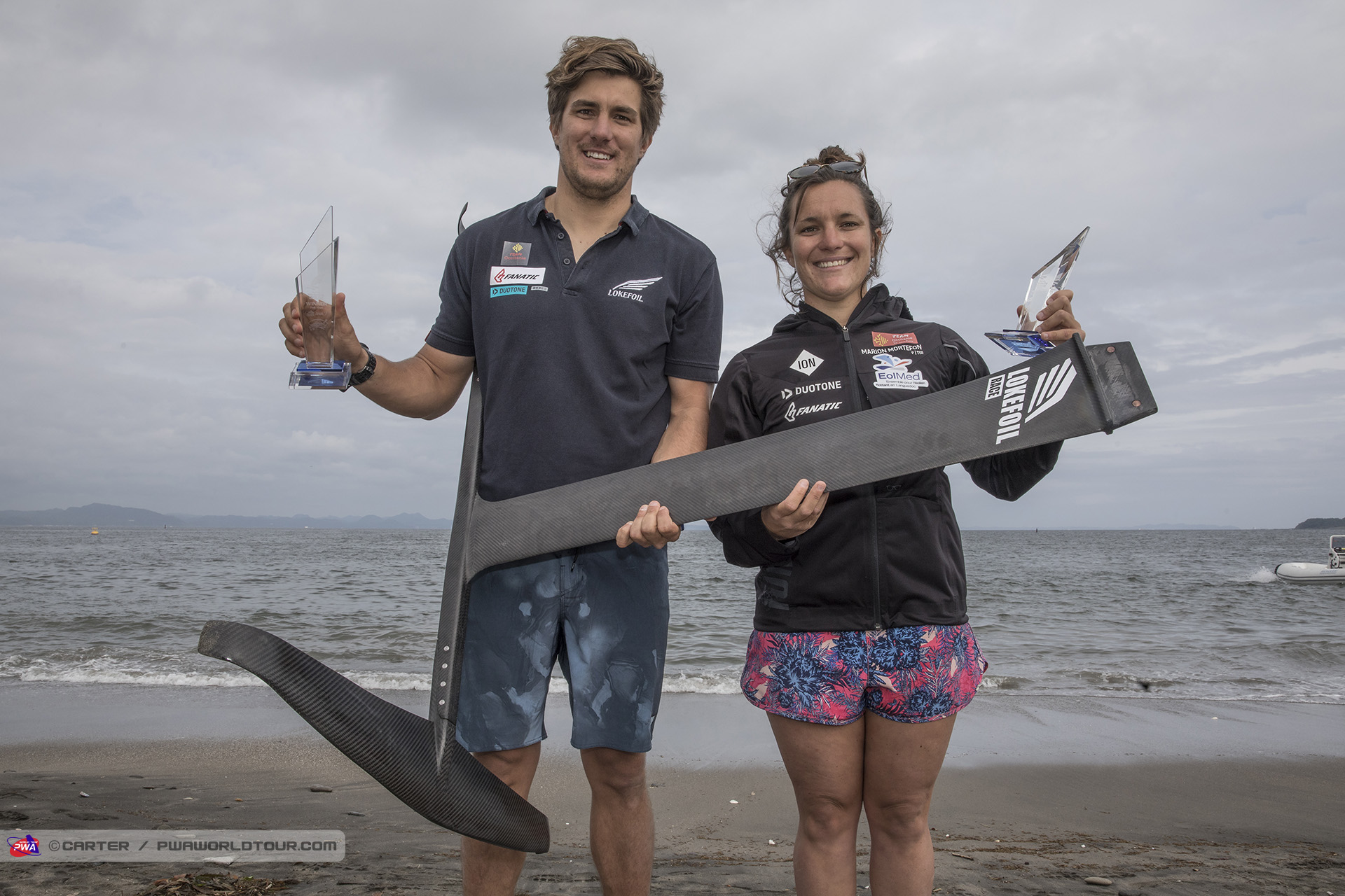 More success for Pierre and Marion Mortefon
